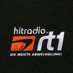 Bild: Logo: hitradio rt1 auf Fleece - Kissen