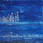 Blue City 150 x 120