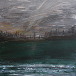 Storm ist coming 100 x 80