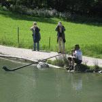 Alphorn am See - der einsame Fischhirte