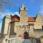Schloss Spangenberg Eingang