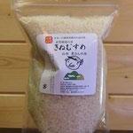 自然栽培の米「きぬむすめ」