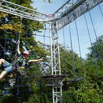 Mobiler Hochseilgarten von Sports & Outdoor Guide