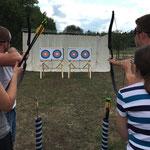 Blind Bogenschießen Teambilding bei www.sports-outdoorguide.de