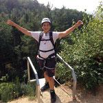 Klettern Kindergeburtstag mit Sports & Outdoor Guide www.kindergeburtstag-heidelberg.de