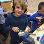 Kindergeburtstag bei Sports & Outdoor Guide Bastelwerkstatt