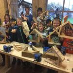 Kreativ- und Bastelwerkstatt für Kinder www.kindergeburtstag-heidelberg.de