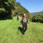 Abenteuer Wanderung mit Sports & Outdoor Guide www.kanu-neckar.de