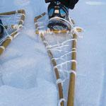 Schneeschuhbau Trapper mit sports-outdoorguide.de
