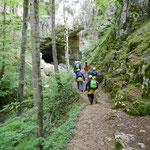 Höhlenexpedition Teamtrainig mit sports & Outdoor-guide.de