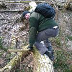 überwinden von Hindernissen im Survival und Abenteuer Tag bei SOG www.sports-outdoorguide.de