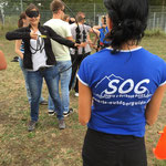 Blind Bogenschießen mit  SOG www.sports-outdoorguide.de Jasmina Czink