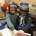 Kinderwerkstatt bei Sports & Outdoor Guide Kindergeburtstag