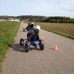 SOG Kindergeburtstag Go Kart Rally für Kinder www.kindergeburtstag-heidelberg.de