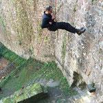 Abseilen an der Burg Stolzeneck mit Sports & Outdoor Guide