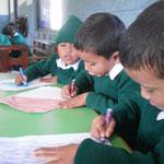 En classe Pokhara Academy