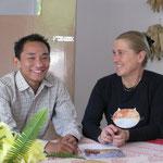 Tsering et Nicole