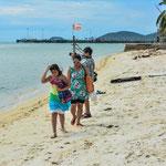 Strandspaziergang in Na Thon