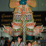 Ankunft in Bangkok Suvarnabhumi Airport