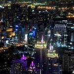 Blick vom Baiyoke Tower auf Bangkok