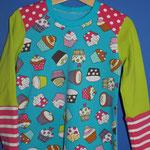 """T-Shrit """"Cupcakes blue"""" schön langes Shirt, 49.- in allen Grössen solange Stoff vorhanden"""
