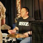 ...und Schlagzeuger Vlada Migric