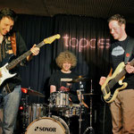 In Europa unterwegs mit coolem Bluesrock: Chris Chambers (links) und seine Jungs  (Foto: © Nilles)
