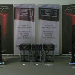 Proemio pre amp & Demone power in Concert on our stand