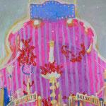 「ロブスターの日」2007年45.5cmx53cm oil on canvas