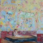 「Scratch」2008年130.3cmx162cm oil on canvas