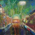 Belle Isle Aquarium 162cm227.3cm oil on canvas