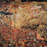 「交換」2010年 194cmx259cm  oil on canvas