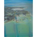 パラシュート Parachute 91cmx72.7cm oil on canvas