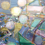 Orbit 72.7cmx91cm oil on canvas