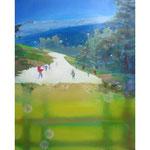 Snow Ball 91cmx72.7cm oil on canvas