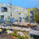 「隣の時間」2009年72.7cmx91cm oil on canvas