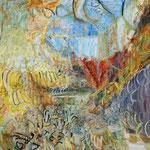 装飾的な言葉 130cmx162cm oil on canvas