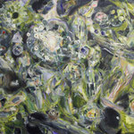 「Untitled 」 2014年 72.7cmx91cm  oil on canvas