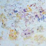「Flower Bed」2007年 145.5cmx112cm  oil on canvas
