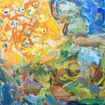 Residents 53cmx45.5cm oil on canvas