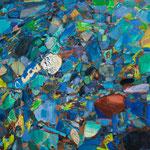 「天気石」2012年 72.7cmx91cm  oil on canvas