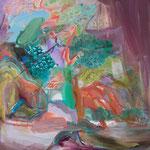 Untitled 53cmx45.5cm oil on canvas