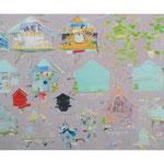 「Nest」2007年 130cmx194cm oil on canvas