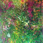 """Waldspaziergang"" 17-67 | Acryl auf Leinwand | 70x100"