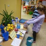 Powerdrinks mit natürlichem Zucker aus Früchten, erleichtern das Lernen...