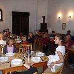 Das war unser Speisesaal, da gab´s immer herrliches Essen.