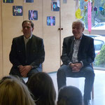Bürgermeister (Dr Werner Berktold) und Vizebürgermeister Thomas Ließ (übernimmt ab Mai das Amt!)