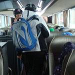 Auf geht´s mit dem Bus! Diesmal zum Riedllift nach Koppl!