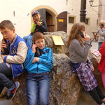 Informationen zur Burg und zum Leben auf der Burg...