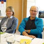 Schulwart Franz Gschaider (ohne Getränk!): Dank ihm ist unser Gebäude in Schuss...